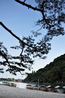Free Beautiful Landscape In Arashiyama, Kyoto, Japan Stock Images - 30808274