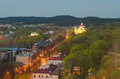 Free Vilnius In The Sunset Royalty Free Stock Image - 30810776