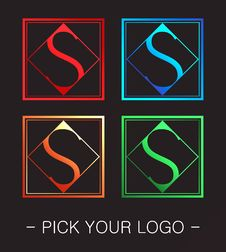 Free Logo Design Royalty Free Stock Image - 30810176