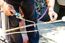 Free Welder And Torch Royalty Free Stock Images - 30811889