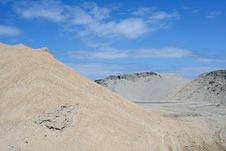 Sand Mound Stock Images