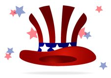 Free American Top Hat Royalty Free Stock Photography - 30812857