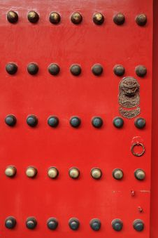 Free The Door Of The Imperial Palace In China Royalty Free Stock Photo - 30813655