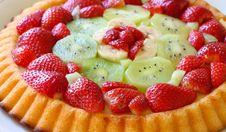 Free Sweet Fruit Cake Stock Image - 30816011