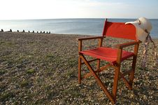 Free Chair On The Beach Stock Images - 30816984