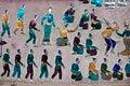 Free Red Chapel At Wat Xieng Thong Temple Stock Image - 30820451