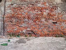 Old Bricks Wall Royalty Free Stock Photos