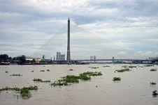 Rama VIII Bridge Royalty Free Stock Image