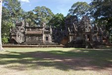 Free Ruins Of Ancient Angkor Temples Stock Photos - 30821273
