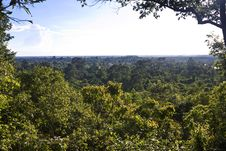Free Countryside In Cambodia Royalty Free Stock Photography - 30821347