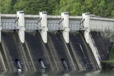 Free Energy Dam At A Lake Stock Photography - 30826472
