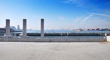 Free Panorama View Of Tempozan Harborland Port Area, Osaka, Japan Stock Photo - 30828830