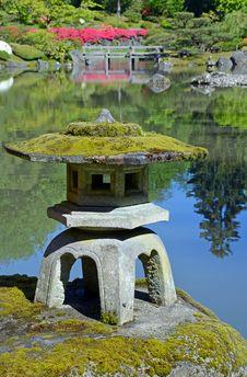 Free Japanese Garden Pond Stock Image - 30829351