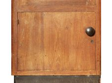 Wooden Cabinet Stock Photos