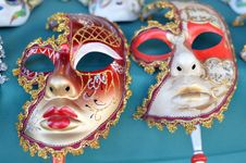 Free Carnival Masks Royalty Free Stock Image - 30836466