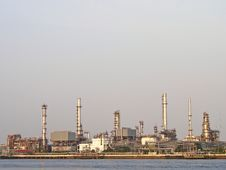Free Refinery In Day Stock Photo - 30838600