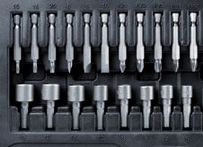 Free Hard Metal Tool Bits Collection Royalty Free Stock Photo - 30839955
