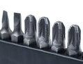 Free Hard Metal Tool Bits Stock Image - 30840021