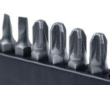 Hard Metal Tool Bits Stock Image