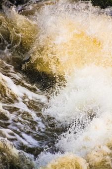 Free River Waves Royalty Free Stock Images - 30852149