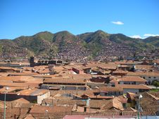 Free Cusco Rooftops Stock Images - 30858044