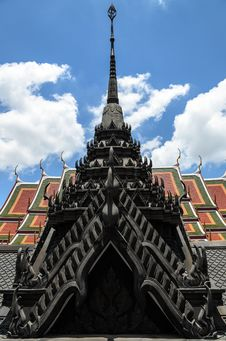 Free Metal Castle Roof Stock Photo - 30858220