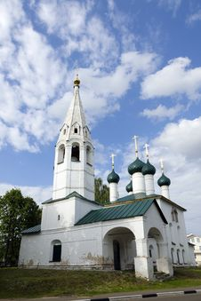 Free Yaroslavl Church, Russia Royalty Free Stock Photo - 30858285