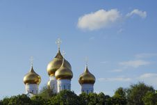 Free Golden Domes, Russia Stock Photos - 30858303