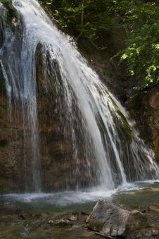 Free Waterfall In The Crimea Stock Photos - 30858723