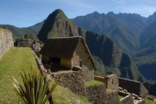 Free Machu Picchu Living Quarters Royalty Free Stock Images - 30858859