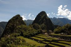 Free Machu Picchu View Over Farming Terraces Stock Photography - 30858882
