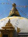 Free The Stupa Of Swayambunath, Nepal Royalty Free Stock Image - 30864006
