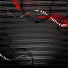 Free Abstract Vector Background With Copy Space Royalty Free Stock Images - 30860209