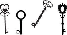 Free Antigue Keys Stock Image - 30861521