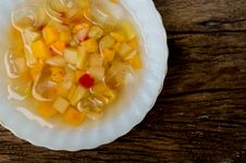 Free Canned Fruit Royalty Free Stock Images - 30863809
