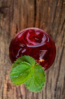 Free Iced Strawberry Lemon Soda Royalty Free Stock Photo - 30864325