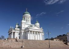Free Helsinki Cathedral Royalty Free Stock Photography - 30867637
