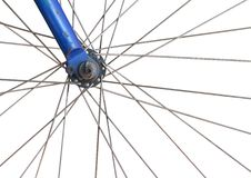 Front Wheel Of Bike Stock Image