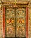 Free Designer Indian Door Stock Photography - 30873082