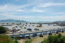 Free Nha Trang Bridges Stock Photography - 30873152