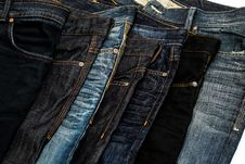 Free Different Jeans Royalty Free Stock Images - 30877639