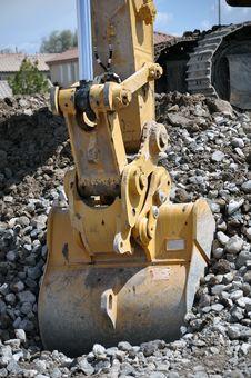 Free Hydraulic Excavator Bucket Stock Images - 30878164