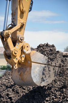 Free Hydraulic Excavator Bucket Stock Images - 30878174