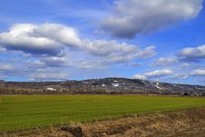 Free Rural Early Spring Landscape Royalty Free Stock Images - 30878799