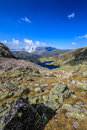 Free Mountain  Scenery In The French Alps In Summer Royalty Free Stock Images - 30880489