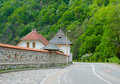 Free Street Near The Lainici Monastery Royalty Free Stock Image - 30880696