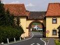 Free Road Narrowing Royalty Free Stock Photography - 30881437