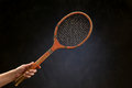 Free Vintage Tennis Racket Royalty Free Stock Photography - 30888927