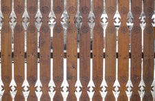 Free Traditional Wooden Gate Stock Photography - 30880752