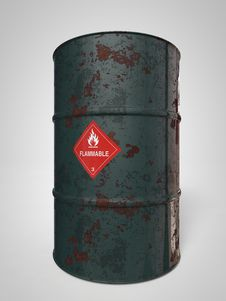 Free Oil-Barrels Stock Photos - 30881223